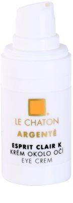 Le Chaton Argenté Esprit Clair K creme para o contorno dos olhos 1