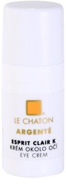 Le Chaton Argenté Esprit Clair K creme para o contorno dos olhos