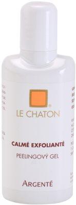 Le Chaton Argenté Calmé Exfolianté gel exfoliante