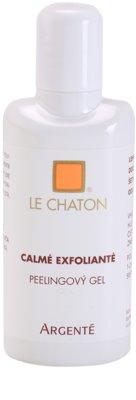 Le Chaton Argenté Calmé Exfolianté peelingový gel