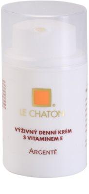 Le Chaton Argenté crema de zi hranitoare cu vitamina E