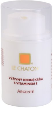 Le Chaton Argenté eine reichhaltige Tagescreme mit Vitamin E