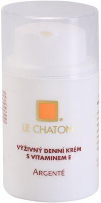 Le Chaton Argenté odżywczy krem na dzień z witaminą E