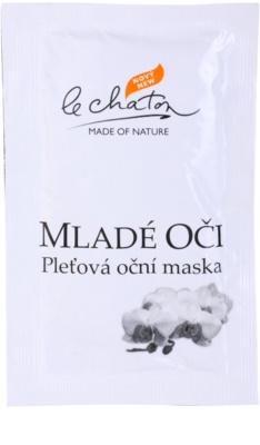 Le Chaton Argenté Hautmaske für die Augen