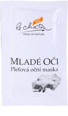 Le Chaton Argenté pleťová oční maska