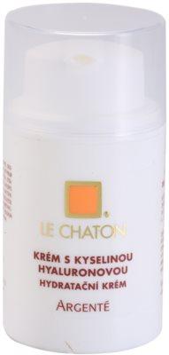 Le Chaton Argenté crema pentru ten  cu acid hialuronic