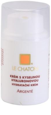 Le Chaton Argenté krem do twarzy z kwasem hialuronowym
