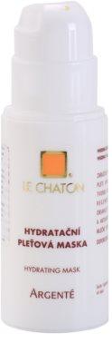 Le Chaton Argenté hydratační pleťová maska 1