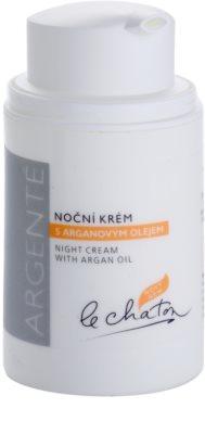 Le Chaton Argenté noční krém s arganovým olejem 1