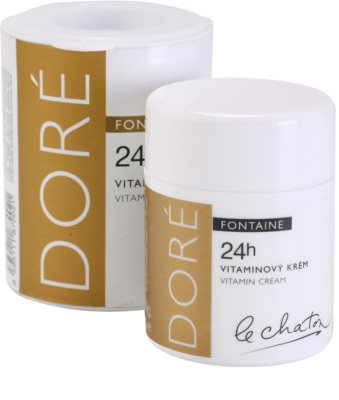 Le Chaton Doré Fontaine Hautcreme mit Vitaminen 1