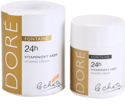 Le Chaton Doré Fontaine crema pentru ten  cu vitamine 2