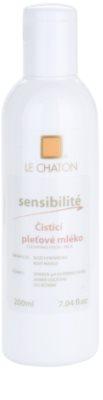 Le Chaton Sensibilité čisticí pleťové mléko
