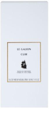Le Galion Cuir Eau de Parfum unissexo 4