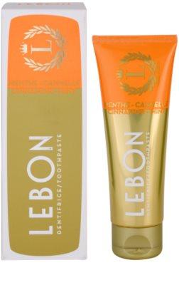 Lebon Menthe - Cannelle zobna pasta 1