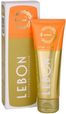 Lebon Menthe - Cannelle zobna pasta 2