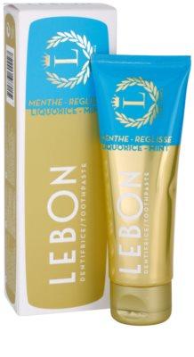 Lebon Menthe - Reglisse pasta de dientes 1