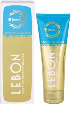 Lebon Menthe - Reglisse pasta de dientes 2