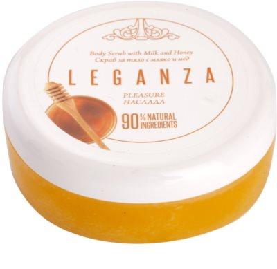 Leganza Pleasure пілінг для тіла