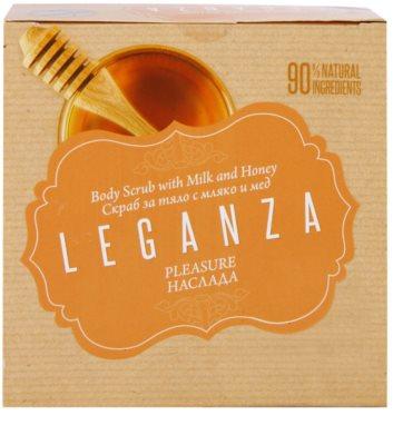 Leganza Pleasure tělový peeling 3