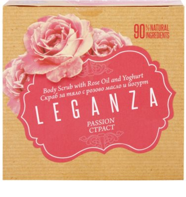 Leganza Passion пилинг за тяло 3