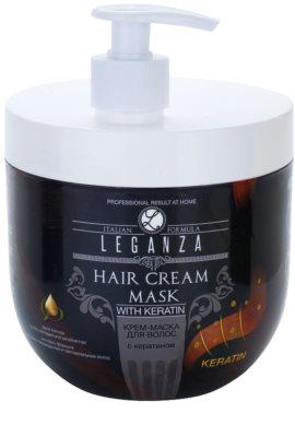 Leganza Hair Care крем-маска з кератином