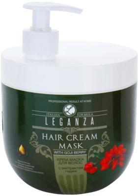 Leganza Hair Care krémová maska s výtažkem z kustovnice čínské
