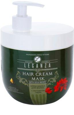 Leganza Hair Care máscara cremosa com extrato de bagas de goji