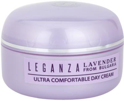 Leganza Lavender crema de día  hidratante y nutritiva