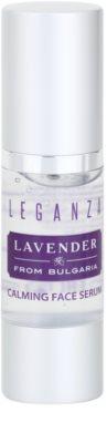 Leganza Lavender beruhigendes Serum für das Gesicht