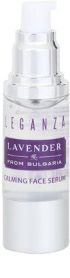 Leganza Lavender serum calmante para el rostro 1