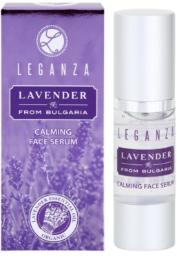 Leganza Lavender zklidňující sérum na obličej 2
