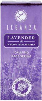 Leganza Lavender serum calmante para el rostro 3