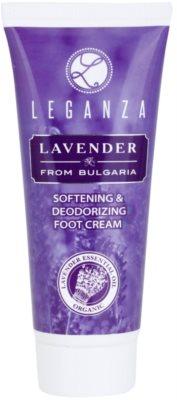 Leganza Lavender mehčalna krema za noge