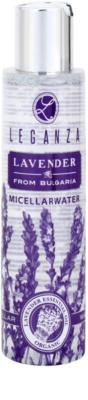 Leganza Lavender micelární čisticí voda
