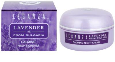 Leganza Lavender Beruhigende Nachtcreme 1