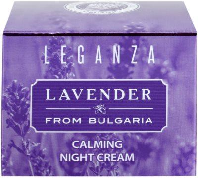Leganza Lavender Beruhigende Nachtcreme 2
