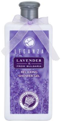 Leganza Lavender gel de duche relaxante