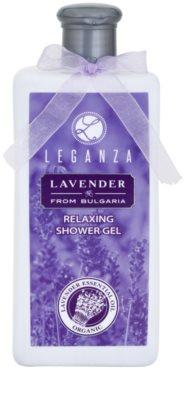 Leganza Lavender relaksujący żel pod prysznic Relaksujący żel pod prysznic