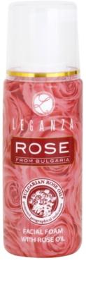 Leganza Rose spuma racoritoare de curatare