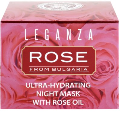 Leganza Rose Masca de noapte hidratanta 2