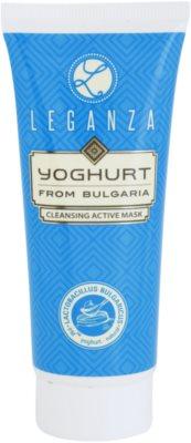 Leganza Yoghurt máscara de limpeza ativa