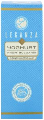 Leganza Yoghurt активна очищуюча маска 2