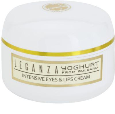 Leganza Yoghurt intenzivna krema za okoli oči in ustnic