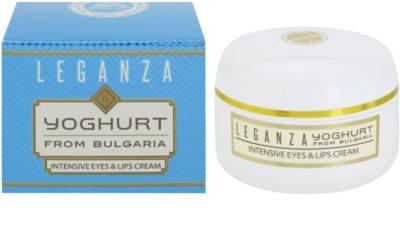 Leganza Yoghurt crema intensiva para contorno de ojos y labios 1