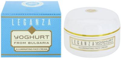 Leganza Yoghurt aufhellende Tagescreme 1