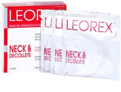 Leorex Booster Neck & Decollete Maske für Hals und Dekolleté
