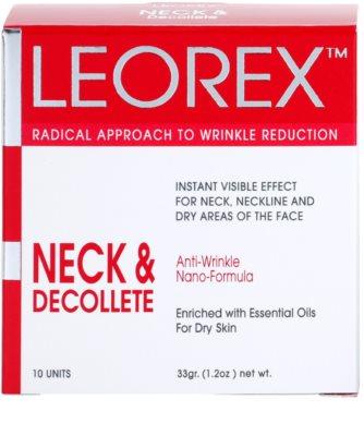 Leorex Booster Neck & Decollete máscara para pescoço e decote 3