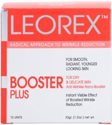 Leorex Booster Plus pleťová maska proti vráskám 3