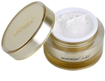 Leorex  Gold verjüngende Creme mit Goldpuder 1