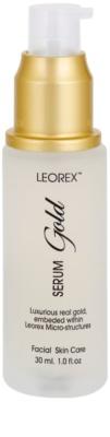 Leorex  Gold sérum facial com ouro 1
